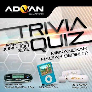 Advan Trivia Quiz dunialombaku.blogspot.com