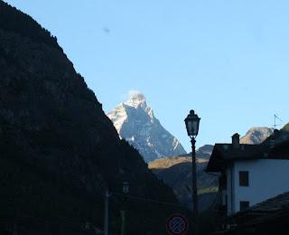 First view of the Matterhorn