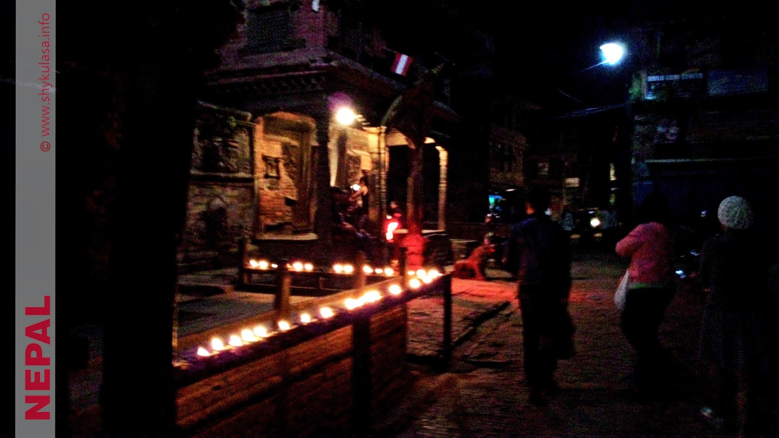 Taumadhi Square at Night, Bhaktapur