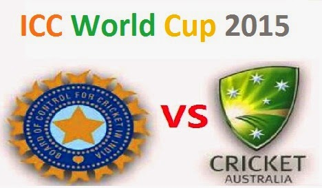 India vs Australia Semi-Final Live Score ICC Cricket World Cup 2015