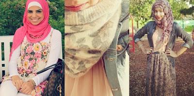trend hijab 2013 4 Trend Hijab Terbaru 2013