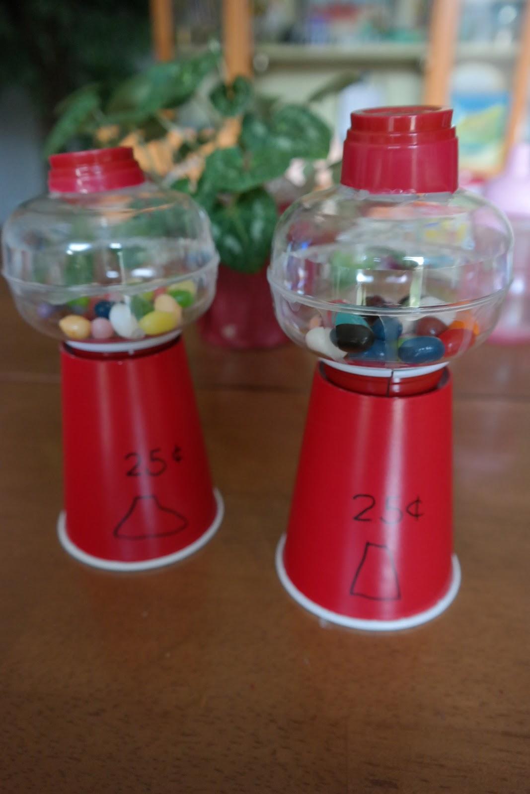 Letter S Plastic Cups