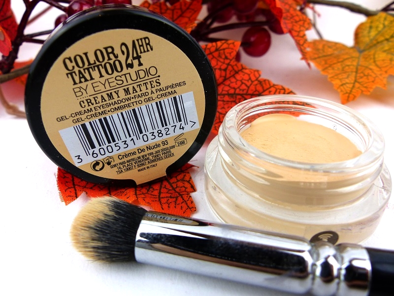 Ramona s beauty blog review maybelline color tattoo for Maybelline color tattoo creme de nude