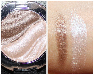 essence 3D Eyeshadow in irresistible caramel cream