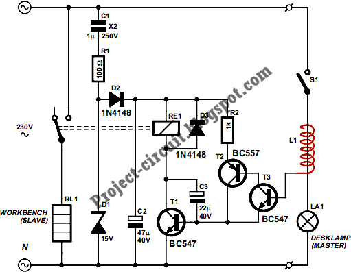 free project circuit diagram