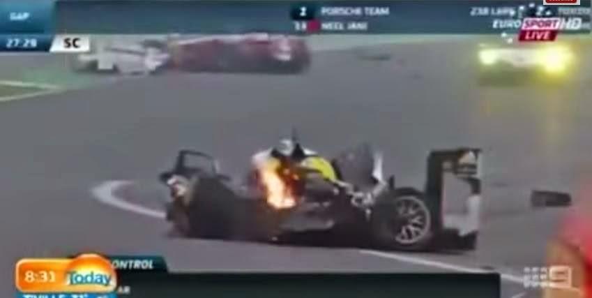 Tremendo accidente de Mark Webber en las 6 Horas de San Pablo