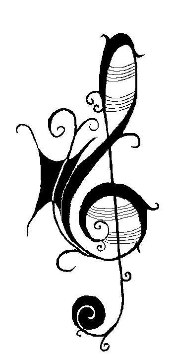 music note tattoos for girls