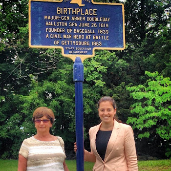 Elise Stefanik at Birthplace of Abner Doubleday