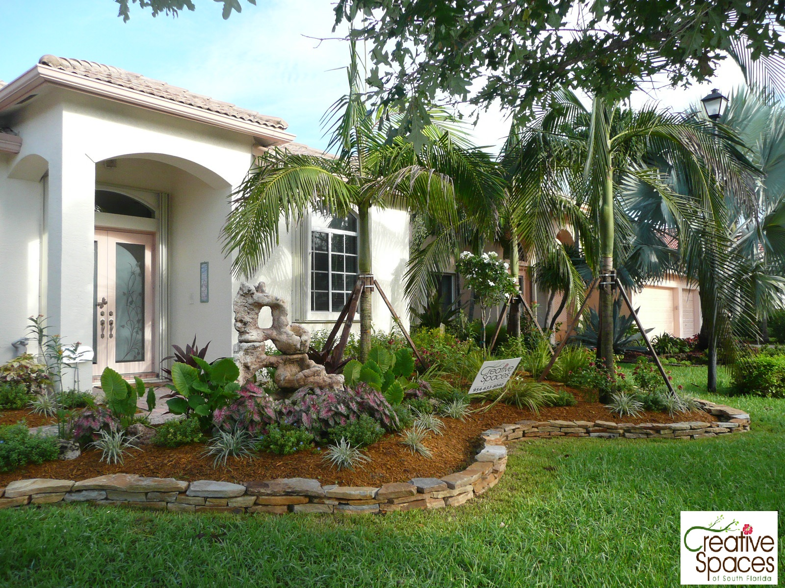 Landscaping landscaping ideas front yard south florida Florida landscape design ideas