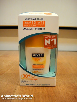 Nivea Sun Daily Face Fluid Collagen Protect SPF 30+ PA++