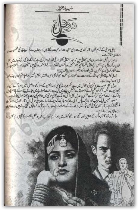 Downlaod free Dar e dil novel by Nabila Aziz Episode 28 pdf February
