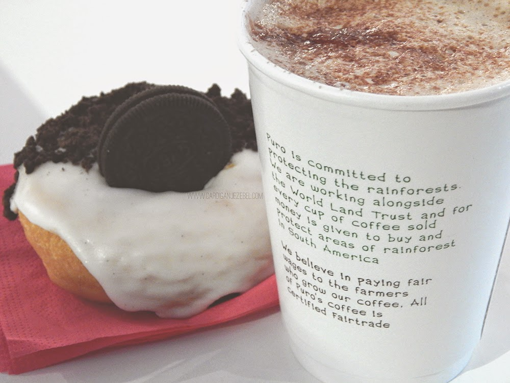 Dungeons and Donuts Galway Oreo Coffee