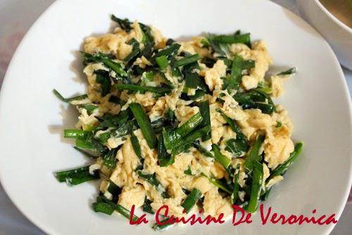La Cuisine De Veronica 韭菜炒蛋