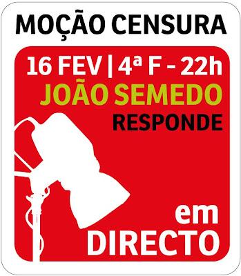 João Semedo responde em directo sobre a moção de censura ao governo do BE