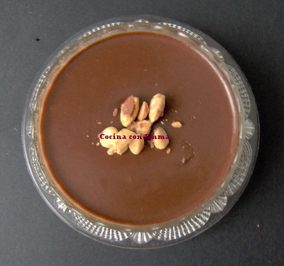 Panna cotta de nutella