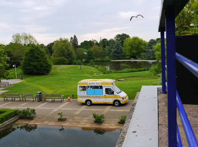 Ice Cream Van at Bath University