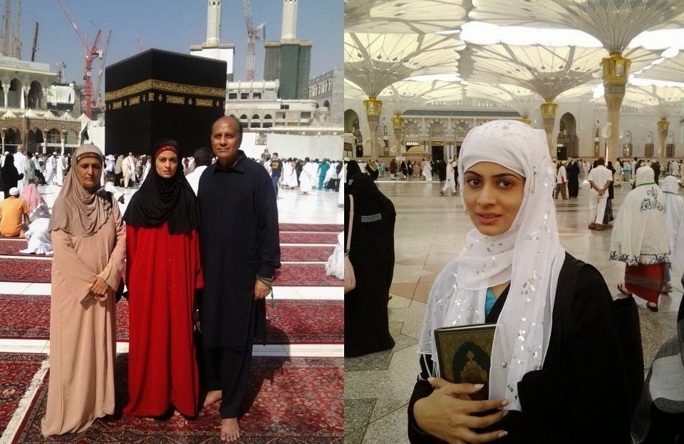 Image result for pakistani celebrities performing hajj 2018