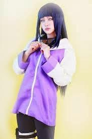 Cosplay Hinata Hyuga Shippuden