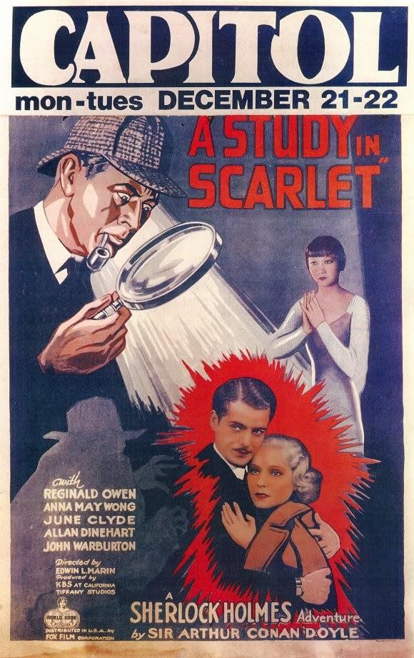 Sherlock Holmes: A Study in Scarlet Artwork