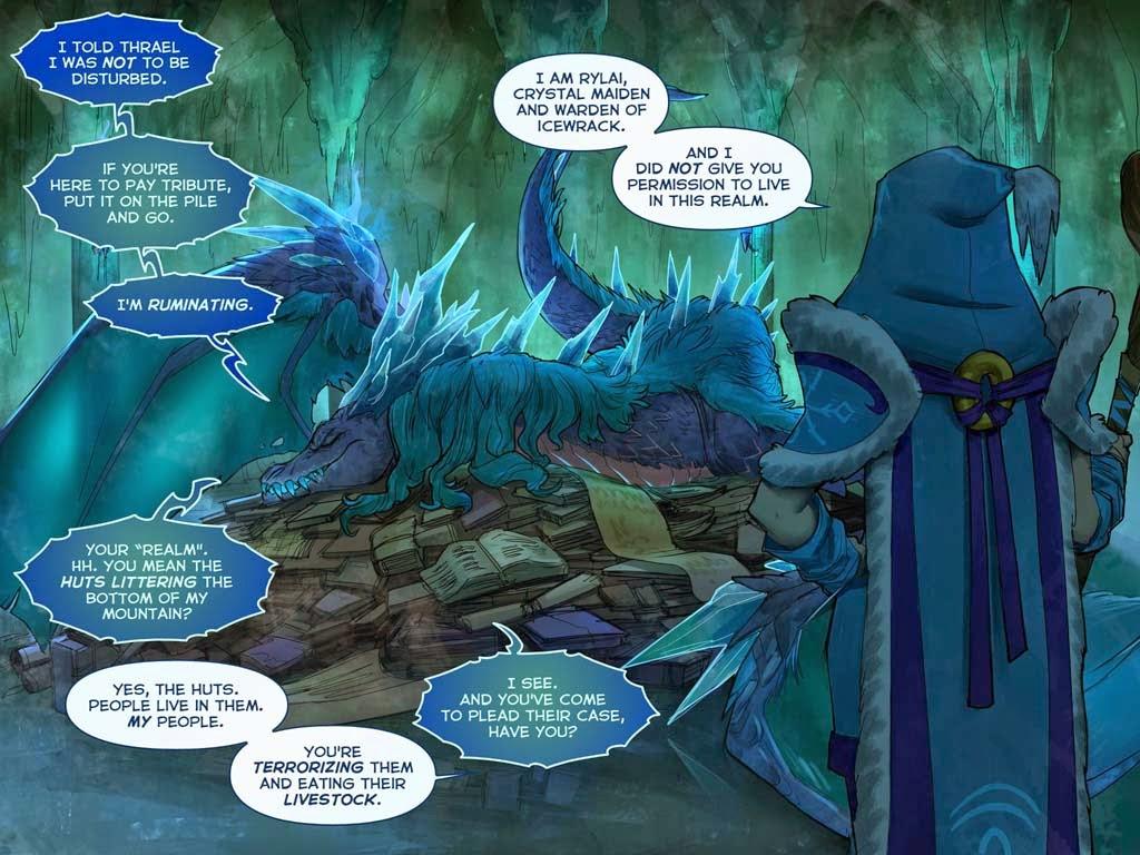 Comic Dota 2 - Newbloom 2015