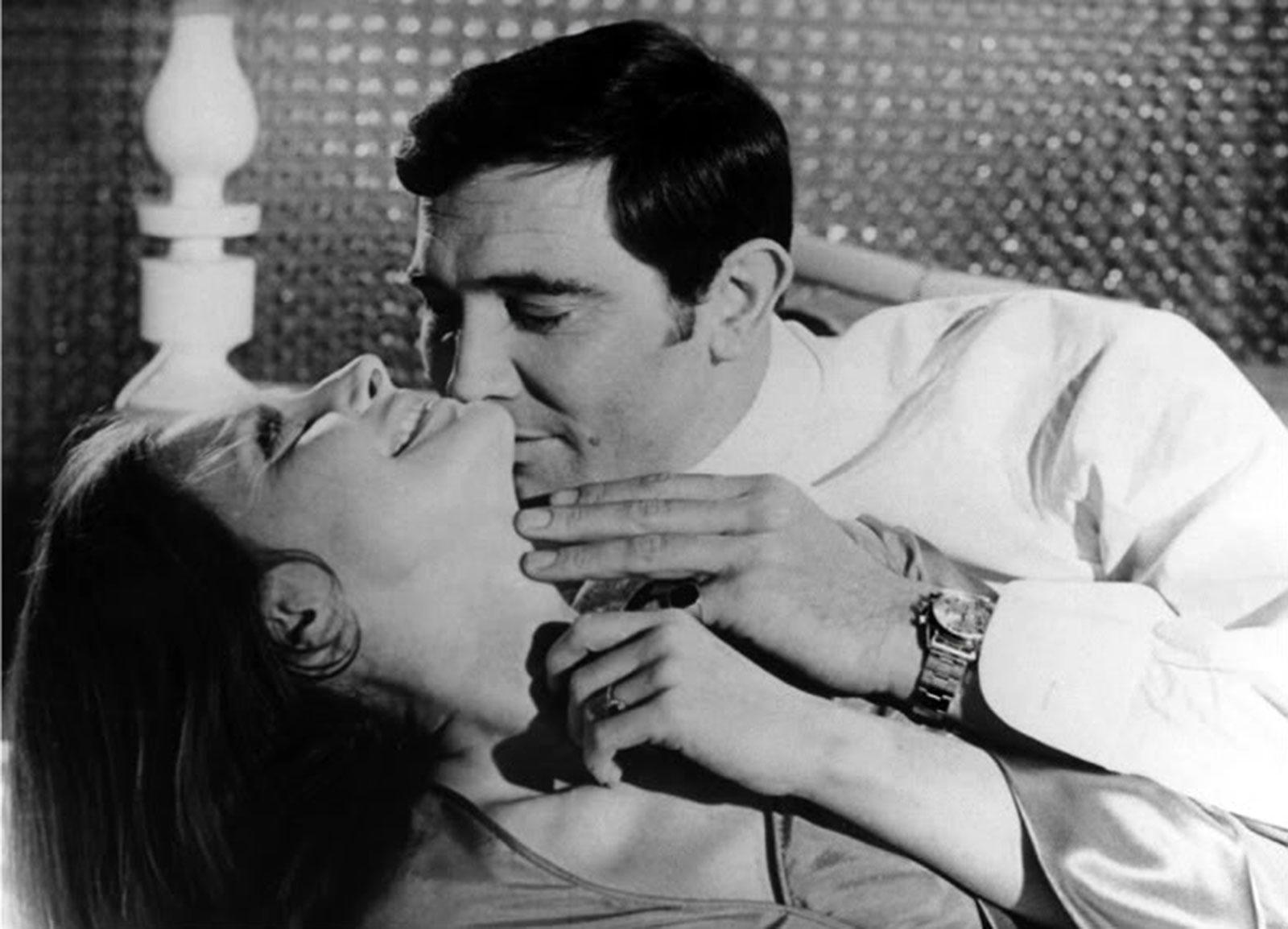James Bond, les montres George-Lazenby-as-James-Bond-Rolex-Daytona