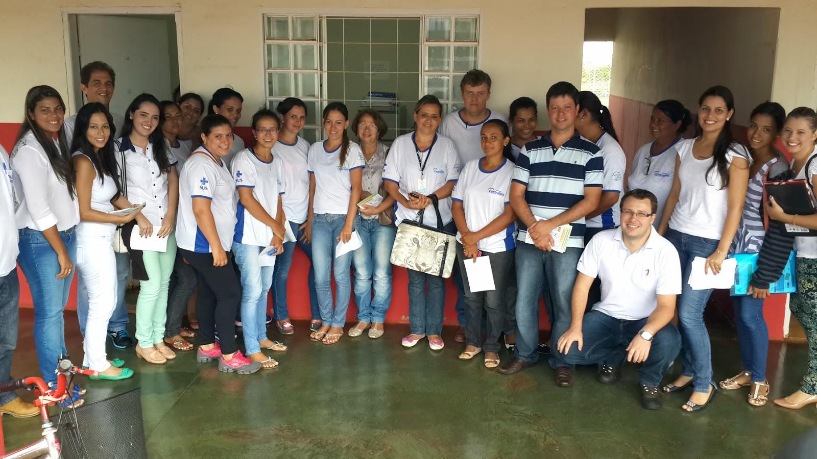 Equipe da Saúde participou do treinamento
