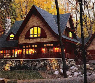 Ancient and Modern Home Design: Maple Forest Home Design