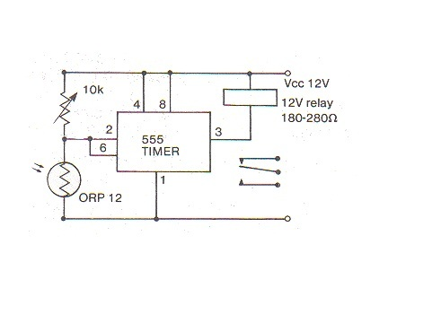 Electronic circuit, componnent data, lesson and etc….: NE555 Light ...