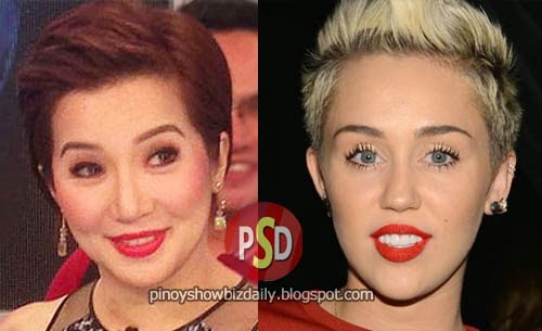 Who Did It Better: Kris Aquino or Miley Cyrus?
