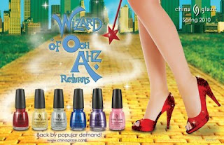 China Glaze Wizard of Ohh Ahz Collection, opiniones swatch review
