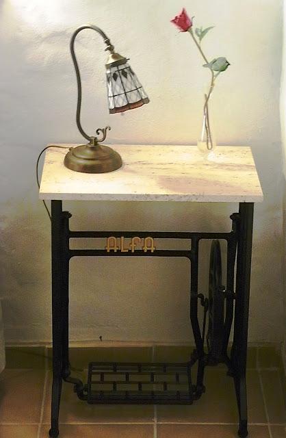 Restaurantiques maquina de coser alfa para el recuerdo - Maquinas de coser restauradas ...