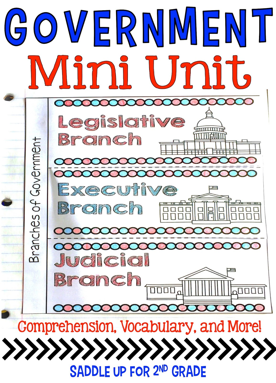3 branches of government worksheets for 2nd grade