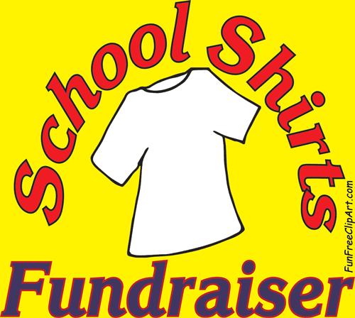 School Shirts Fundraiser - Logo - Fun Free Clipart ...
