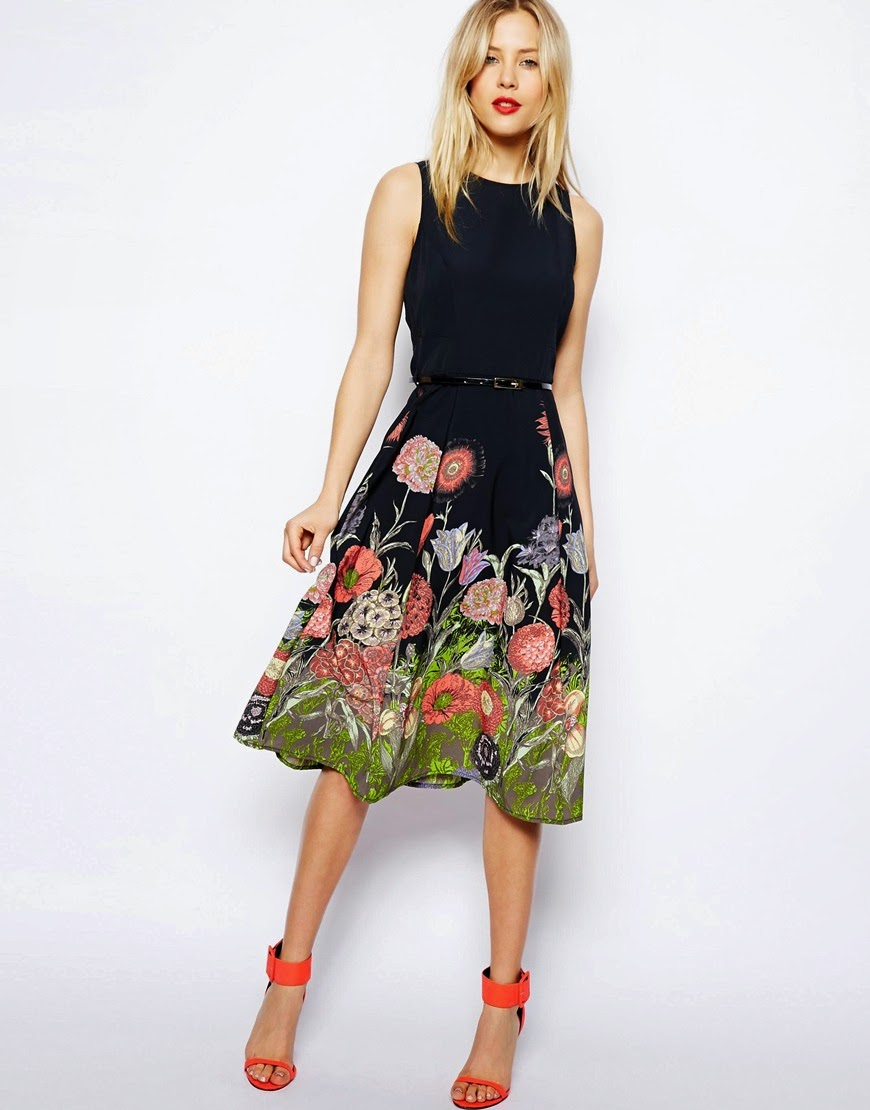 flower skirt dress