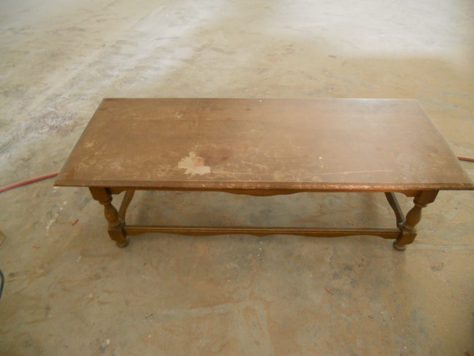 createinspire Navy Coffee Table