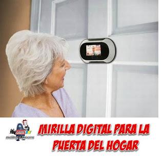 camara de seguridad para puertas