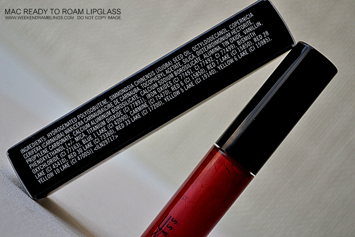 MAC Ready to Roam Tinted Lipglass Styleseeker Collection Indian Beauty Blog Reviews Swatches Ingredients Makeup Looks FOTD