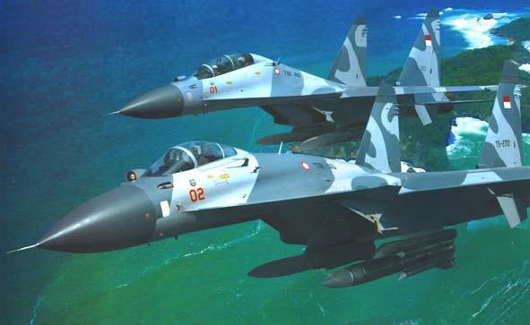 Amunisi Armada Tempur Sukhoi TNI-AU