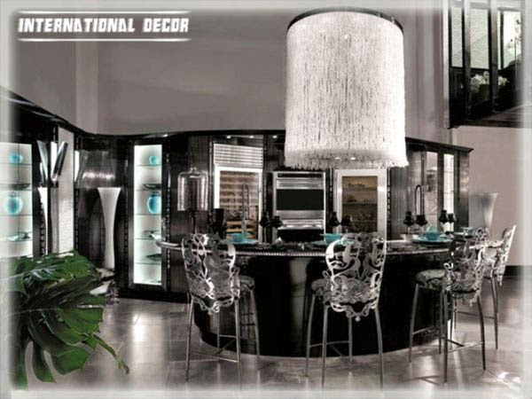 12 art deco kitchen designs and furniture for Design and deco