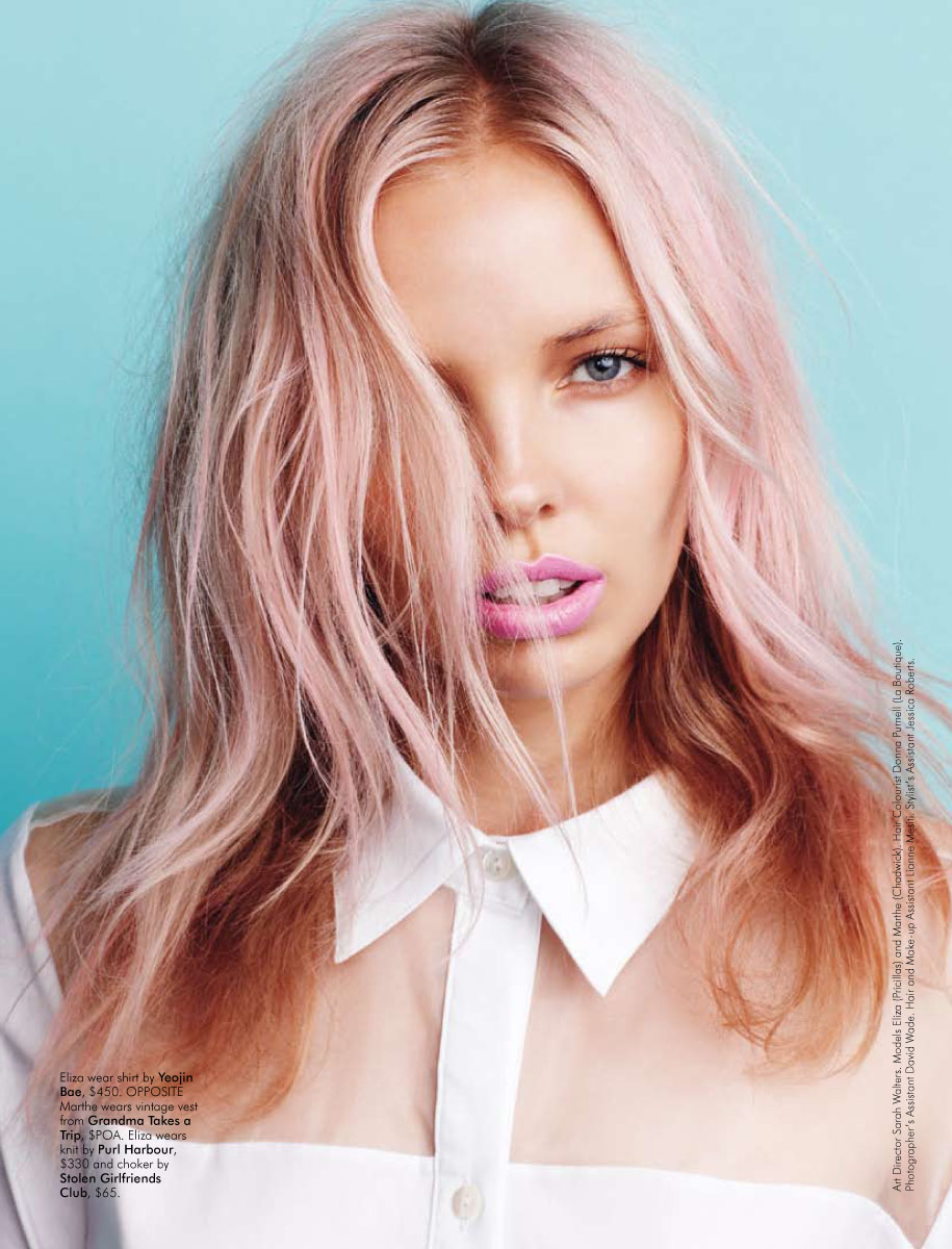Dusty Rose Hair Color How To