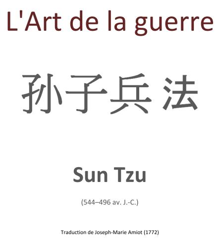 Livre gratuit: L'art de la guerre - Sun Tzu