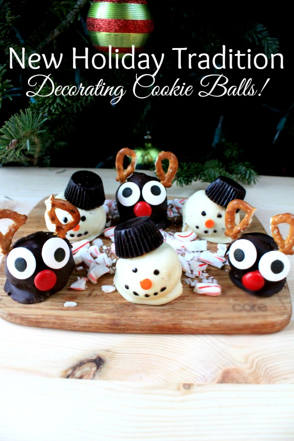 Holidays are all about tradition. Why not start a new holiday tradition, like decorating cookie balls, with your family this year? #OREOCookieBalls #ad