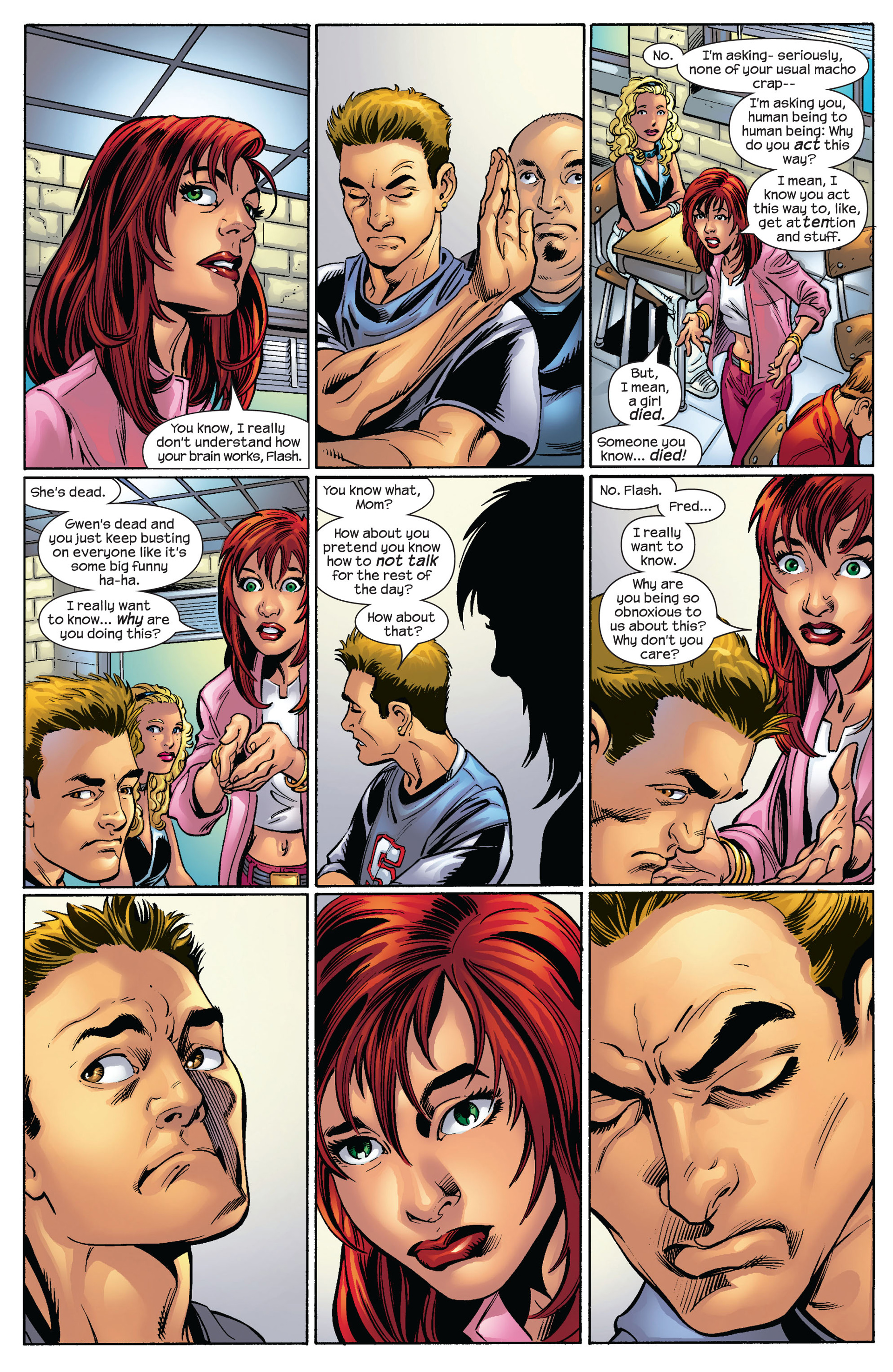 Ultimate Spider-Man (2000) Issue #65 #69 - English 9