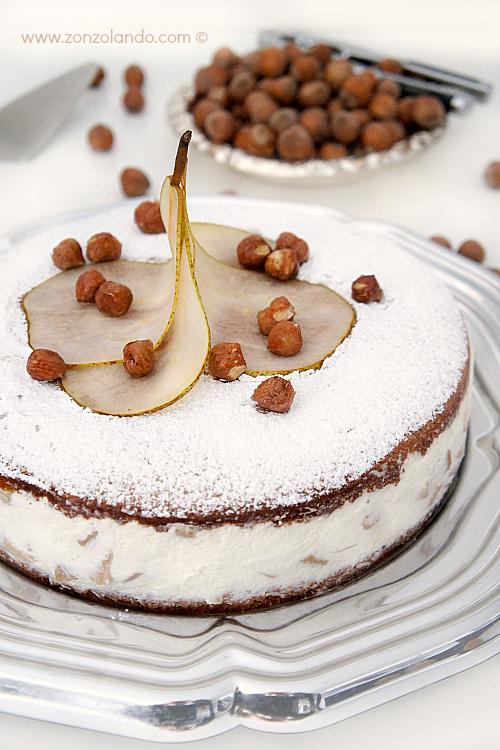 Torta ricotta e pere buonissima ricetta Pear and ricotta cake yummy recipe