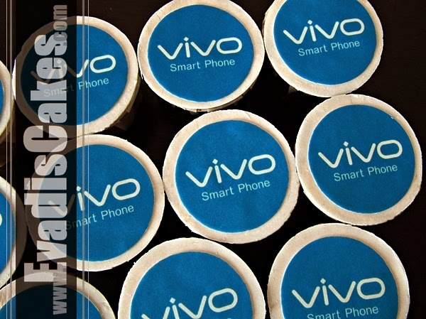 Close view picture of Vivo Cupcakes Edible Image