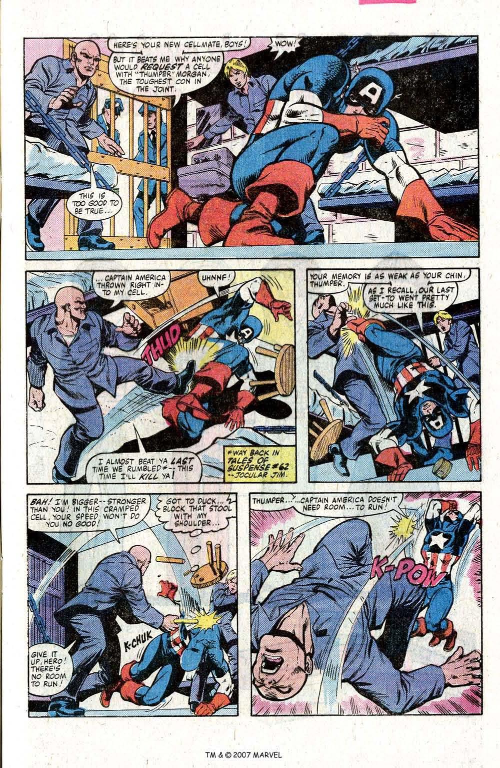 Captain America (1968) Issue #260 #175 - English 5