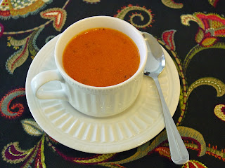 Cream of Tomato Soup from Soup Spice Everything Nice
