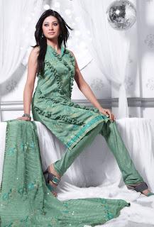 designer churidar kameez
