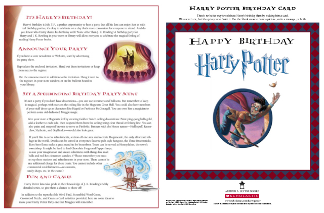 Harry Potter Invitation with best invitation template