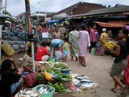 pedagang pasar tradisional